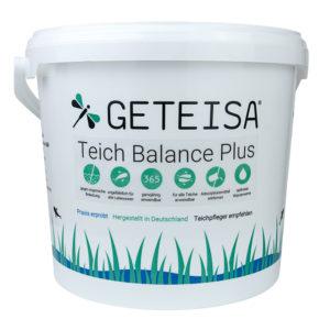 Teichbalance Plus – fadenalgenfrei durchs ganze Jahr mit zusätzlichen Schlammabbau