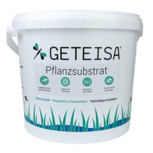 Pflanzsubstrat für Seerosen u. andere Teichpflanzen